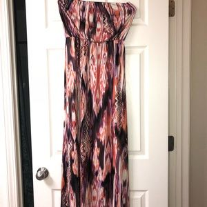 RUBY ROX floor length maxi dress